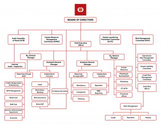 Organizational Structure - Everest Bank